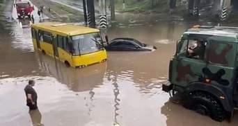 """""""Метр воды в доме"""": проливной дождь затопил Мариуполь – фото, видео"""