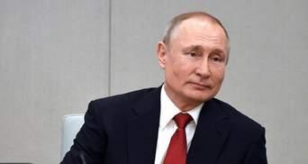 """Путін оголосив про завершення укладання труб першої нитки """"Північного потоку-2"""""""