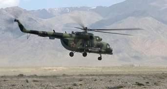 Аварія вертольота у Киргизстані: неподалік – територія загострення з Таджикистаном