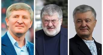 Порошенко, Ахметов и Коломойский отреагировали на законопроект об олигархах
