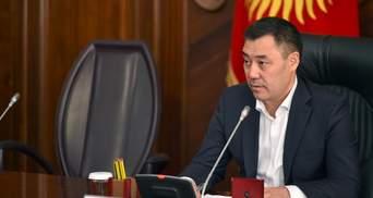 Кортеж президента Кыргызстана попал в ДТП: есть погибший