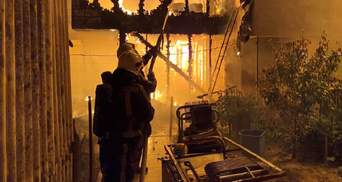 На Київщині пожежа  забрала життя дитини