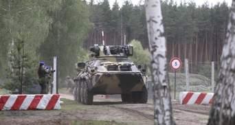 Готовы к отпору агрессору: на Харьковщине тренировалась полиция, гвардейцы и спасатели