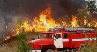 У кількох регіонах України – надзвичайна пожежна небезпека: перелік