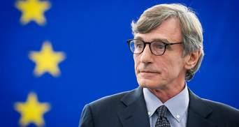Глава Європарламенту закликав підтримати вступ країн Західних Балкан до Євросоюзу