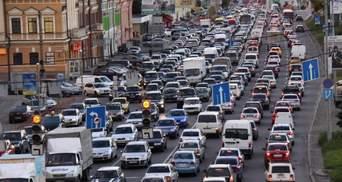 Утренние пробки в Киеве 7 июня: где затруднено движение – онлайн-карта