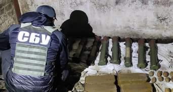 СБУ ліквідувала на Донеччині схрон зі зброєю, який залишили бойовики Гіркіна