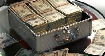 Международные резервы Украины уменьшились на 106,2 тысячи долларов за май