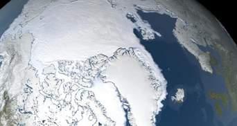 Больше площади Украины: в Арктике растаял рекордный отрезок льда