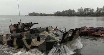 Новые БТР для украинских ВМС прошли успешные боевые испытания: мощное видео