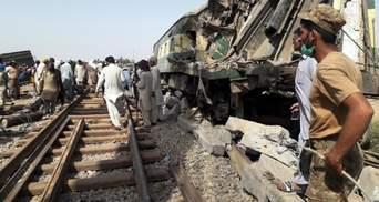 Смертельне зіткнення на залізниці в Пакистані: кількість жертв зросла