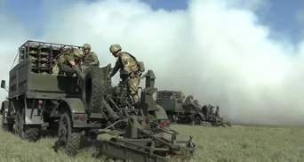 Військові України тренувались встановлювати мінне поле на адмінмежі з окупованим Кримом: відео