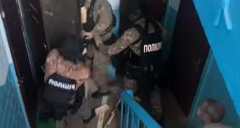 На Київщині бійці КОРДу затримали членів вкрай утаємниченого наркоугруповання: відео