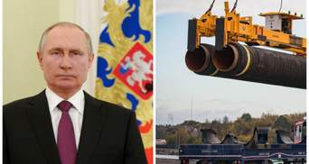 """Це беззмістовно, – Путін про санкції США щодо """"Північного потоку-2"""""""
