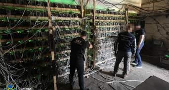 СБУ закрыла незаконную криптоферму: убытки достигли 2 миллионов гривен