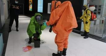 Искали бомбу роботом и ликвидировали загрязнение: в Харькове прошли учения спецслужб – видео