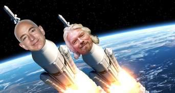 Битва миллиардеров за космос: кто станет первым астронавтом в рейтинге Forbes