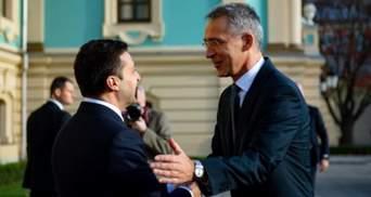 Про саміт НАТО та російську агресію: Зеленський поговорив зі Столтенбергом