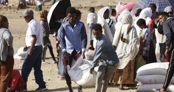 В Ефіопії катастрофічна продовольча ситуація, люди зіткнулися з голодом, – ООН