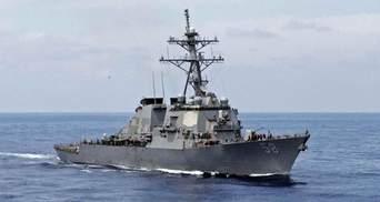 Американський есмінець USS Laboon прямує до Чорного моря