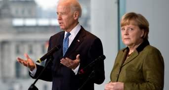 """Меркель поедет в США, чтобы урегулировать ситуацию с """"Северным потоком-2"""""""