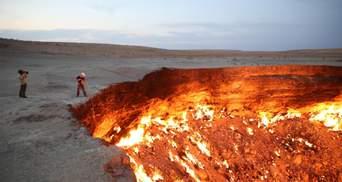"""""""Брама пекла"""" в Каракумській пустелі: як СРСР створила палаючий кратер і засекретила його"""