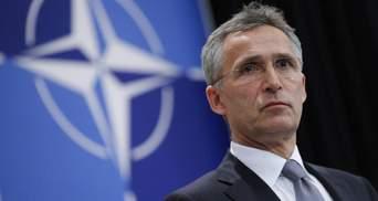 На саммите НАТО обсудят сотрудничество с Украиной и противодействие России, – Столтенберг