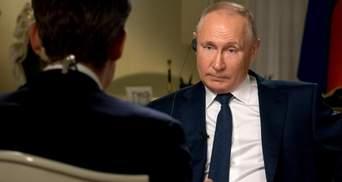 """Чи вважає Путін, що """"Путін – вбивця"""": про що розповів глава Кремля журналістам зі США"""