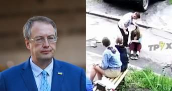 Мразь ответит перед законом, – Геращенко отреагировал на избиение девушки несовершеннолетним