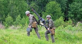"""Розстріляли """"піхоту противника"""": кулеметники Нацгвардії провели навчання на Прикарпатті"""