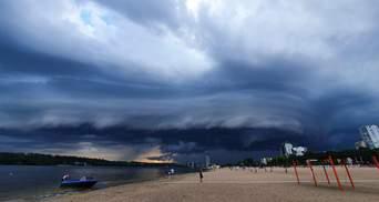 Апокаліпсис у Запоріжжі: шокуючі фото та відео страхітливого природного явища