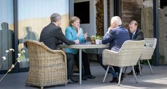 Україна має залишатися партнером в транзиті газу, – Меркель на зустрічі з Байденом