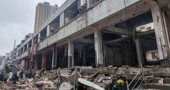 Потужний вибух на ринку в Китаї вбив 11 людей: десятки – серйозно поранені