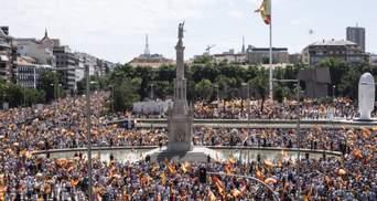 В Испании началась масштабная акция против помилования политиков Каталонии: видео
