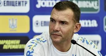 Шевченко пояснив зворотню заміну Марлоса в матчі проти Нідерландів