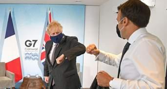 Джонсон посварився з Макроном на саміті G7: у чому причина – ЗМІ