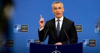 НАТО будет наращивать военный потенциал для противодействия России, – Столтенберг