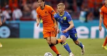 В команди є стержень, –Зінченко спробував знайти позитив у поразці Нідерландам