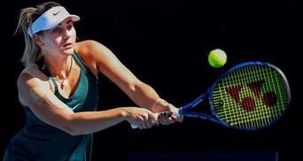 Украинка Костюк установила личный рекорд в рейтинге WTA