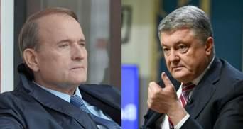 Порошенко з Медведчуком давали електроенергію окупантам в Крим, – ЗМІ