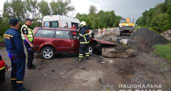 Врезался в бетонную плиту: на Волыни в ДТП трагически погиб 18-летний юноша