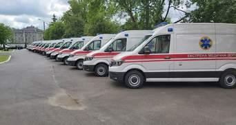 Волинь отримала 14 нових автомобілів швидкої медичної допомоги