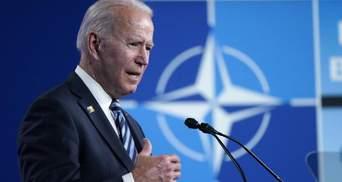 Він гідний суперник, –Байден вирішив наразі не називати Путіна вбивцею