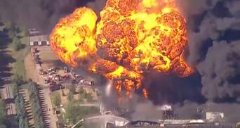 У США горіло хімічне підприємство, місцевих терміново евакуювали: відео