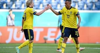 Соперники в шоке: Швеция обыграла неуступчивую Словакию и возглавила группу на Евро-2020 – видео