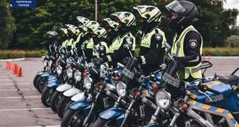 Третє місто в Україні: поліцейський мотопатруль тепер і в Одесі – яскраві фото