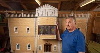 Кристали Swarovski та мармур: чоловік 26 років будував ляльковий будиночок – результат вражає