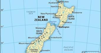 Якщо існує Нова Зеландія, то де розташована Стара Зеландія