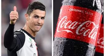 Роналду та обвал акцій Coca-Cola: що насправді сталося на Євро-2020