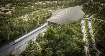 Продумана інфраструктура: інноваційний проєкт залізничного вокзалу у Мексиці